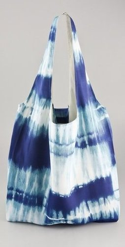 Channel your inner bohemian with this tie-dyed shopper.  Twelfth St. by Cynthia Vincent Shopper Tote ($85)