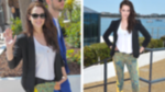 Kristen Stewart Test-Drives the Printed Pants Trend in Cannes