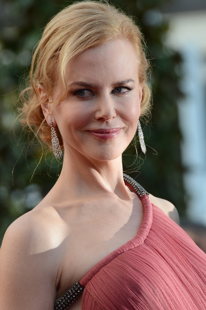 Nicole Kidman lit up the carpet in a custom Lanvin gown.