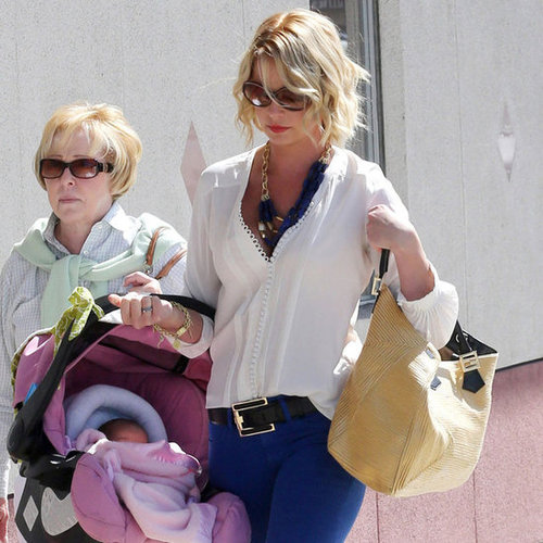Katherine Heigl New Baby Adalaide Pictures
