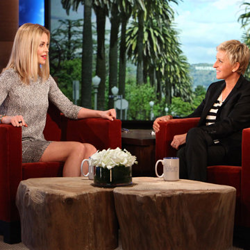 Charlize Theron on Baby Jackson Ellen DeGeneres (Video)