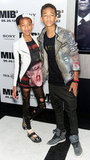 Willow Smith and Jaden Smith supported dad Will Smith at the Men in Black III premiere in NYC.