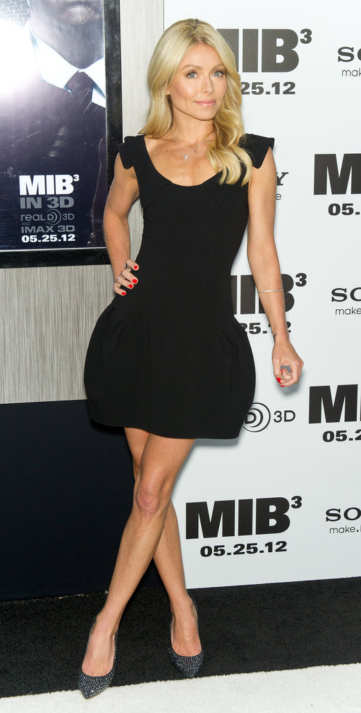 Kelly Ripe wore a LBD to the Men in Black III premiere in NYC.