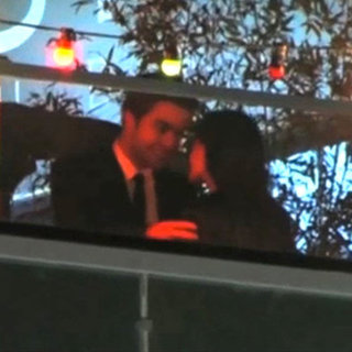 Robert Pattinson and Kristen Stewart Kissing in Cannes