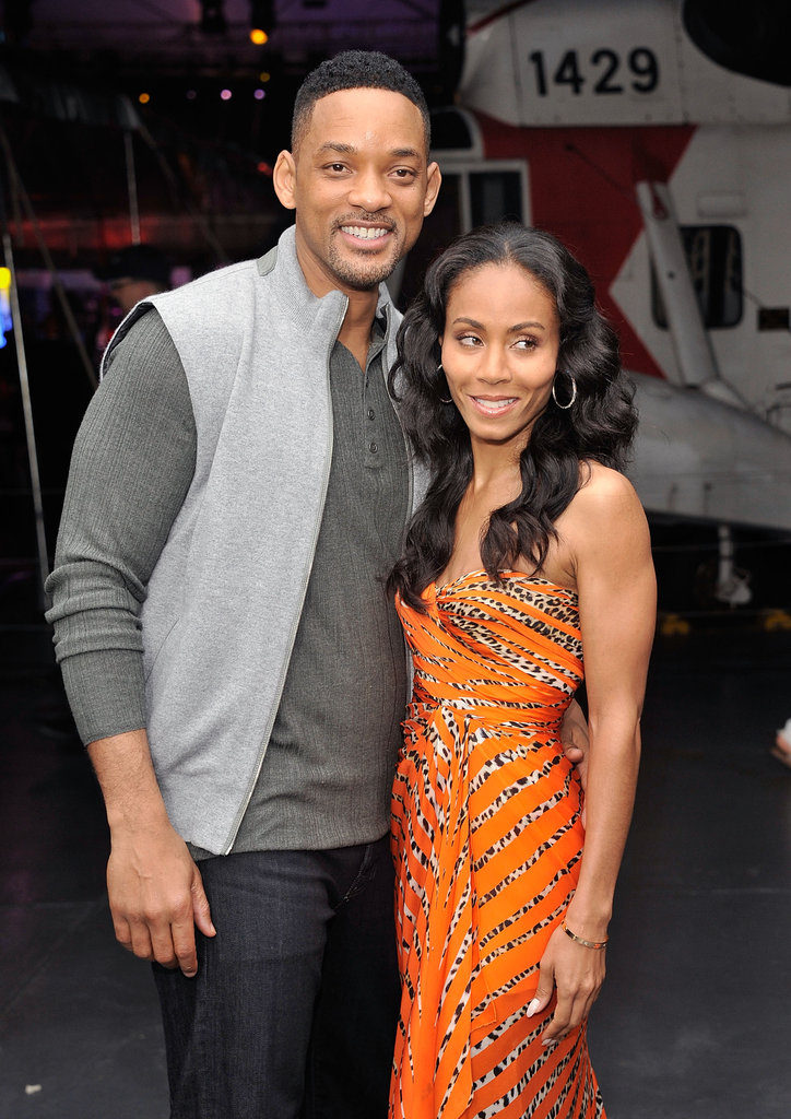 Will Smith hung out with wife Jada Pinkett-Smith at the after party for Men in Black III in NYC.