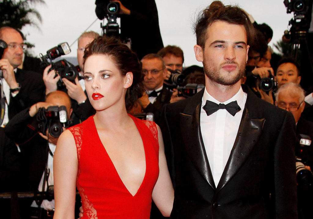 Kristen Stewart Gets Red Hot in Reem Acra at Rob's Cosmopolis Premiere