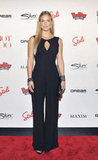 Bar Refaeli walked the red carpet in a black jumpsuit and heels.