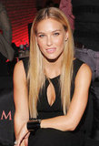 Bar Refaeli smiled for the camera inside the party.