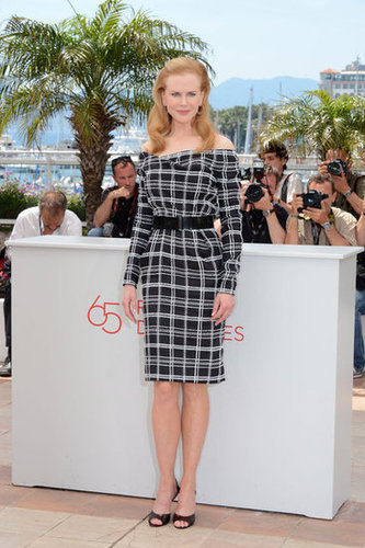 We love the ladylike vibe of Nicole Kidman's checkered Dior.