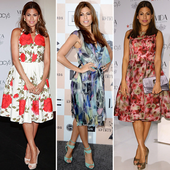 We're smitten with Eva Mendes's flawless Summer style.