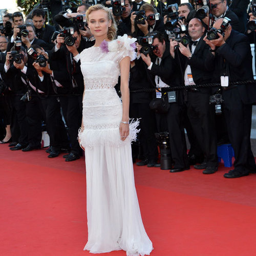 Diane Kruger Cannes White Dresses