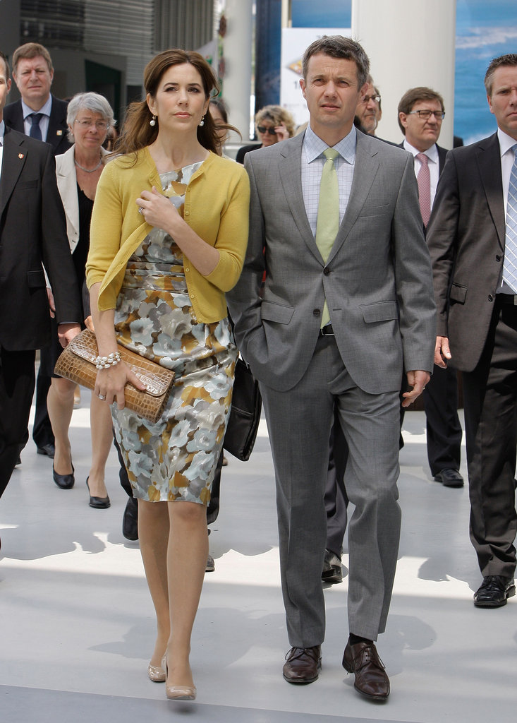 What a dashing couple! Mary and Frederick take a tour of the 2012 Yeosu Expo in South Korea.