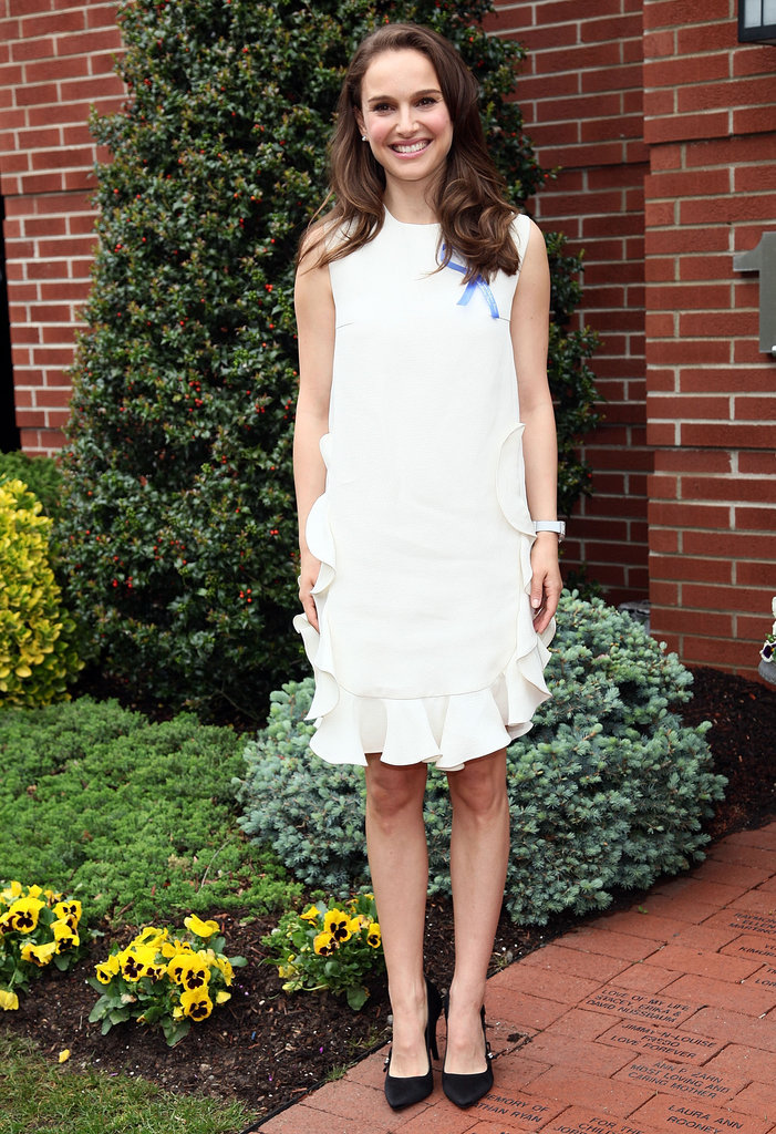Natalie Portman's LWD made a perfectly sweet day dress.