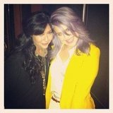 Kelly Osbourne shared a pic with Shannen Doherty. Source: Instagram user kellyosbourne