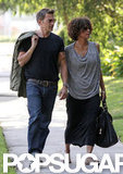 Halle Berry and Olivier Martinez spent Memorial Day weekend in LA.