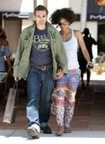 Halle Berry and Olivier Martinez spent the day in Malibu together.