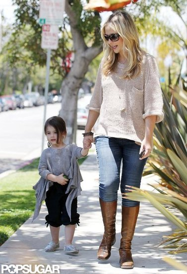Sarah Michelle Gellar walked in LA with daughter Charlotte.