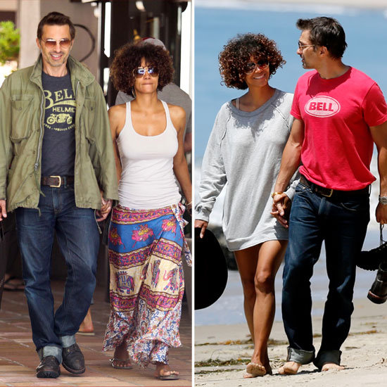 Halle and Olivier Take Many Romantic Strolls Over the Holiday Weekend