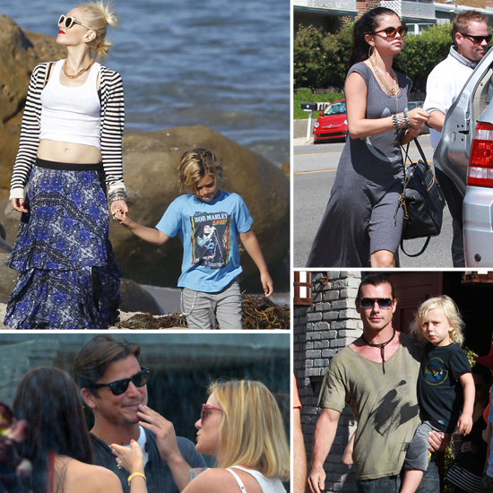 Gwen, Gavin, and Their Boys Spend Memorial Day With Celeb Friends Like Kate, Selena, and More