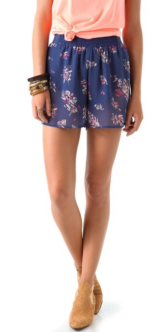 Rock a pair of floral-embellished sheer shorts for that not-quite-pajamas look. Something Else by Natalie Wood Metamorphis Short ($134)