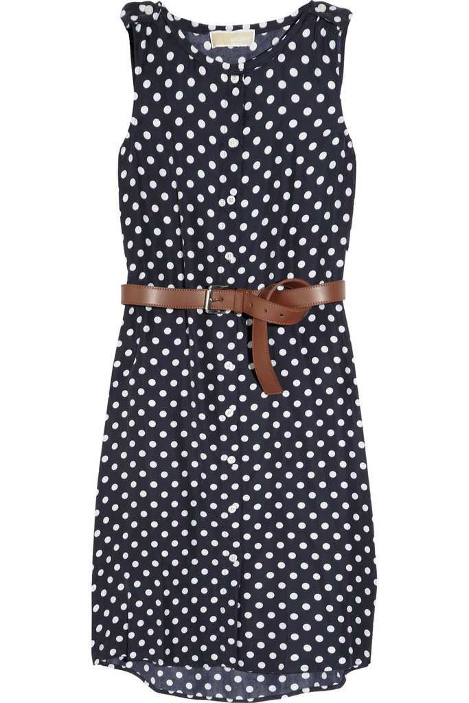A cute polka-dot dress for work or play.  MICHAEL Michael Kors Polka-Dot Silk Dress ($158, originally $225)