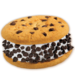 Good Humor Chocolate Chip Cookie Sandwich