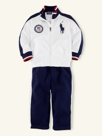 Infant Boys Team USA Track Pant Set ($75)
