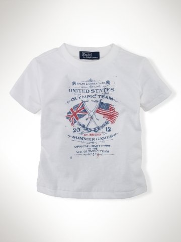 Infant Boys Team USA Flag Tee ($20)