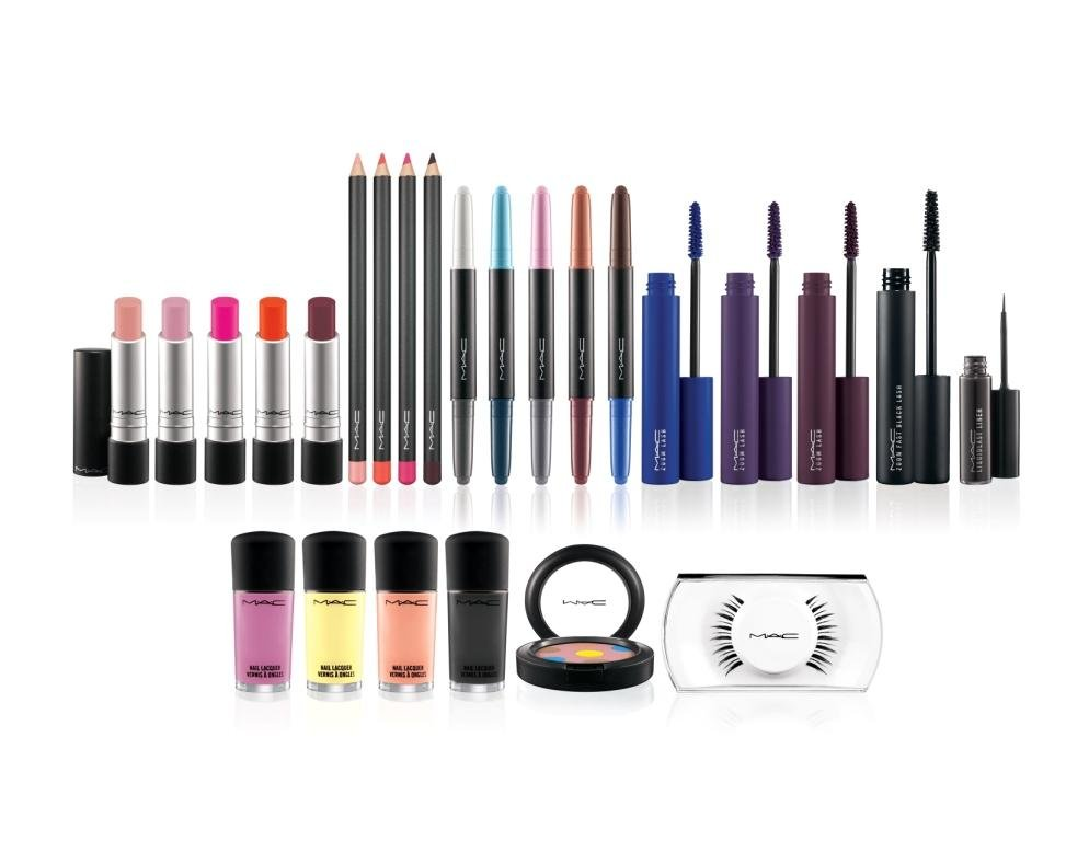 The full collection features three Zoom Lash Mascaras, five Longwear Lipcremes, four Nail Lacquers, five Shade & Smoke Shadow/Liners and four lip pencils plus Zoom Fast Black Lash, Liquidlast Liner, 7 LashPro and Powder to the People.