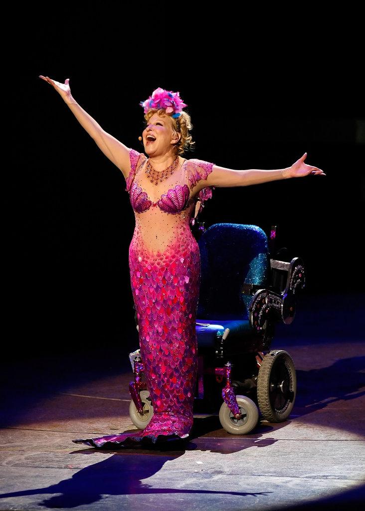 Bette Midler's Wheelchair-Bound Mermaid