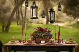 Rustic Princess Bride Tablescape