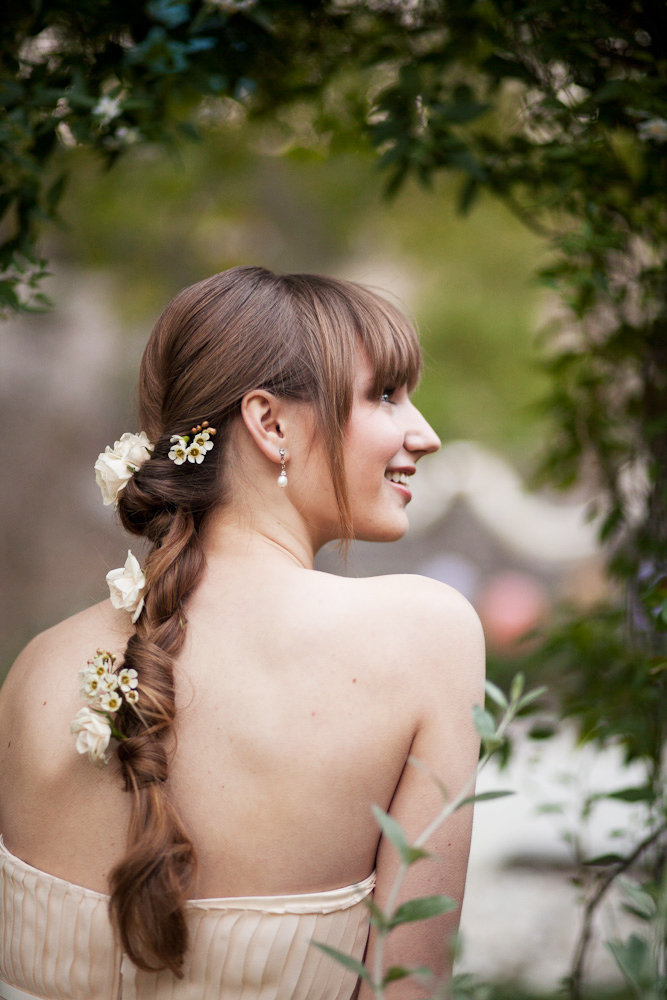 Tangled-Inspired Floral Braid