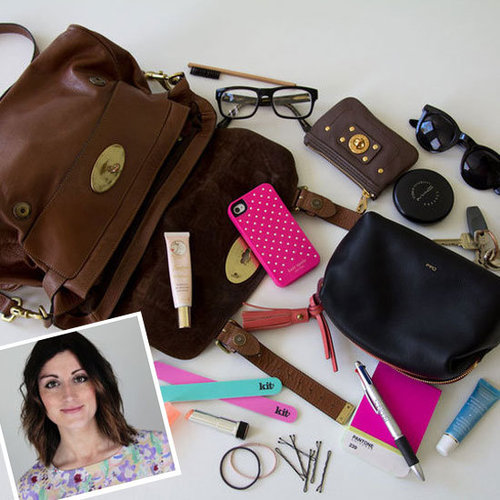 What's in a Beauty Editor's Handbag