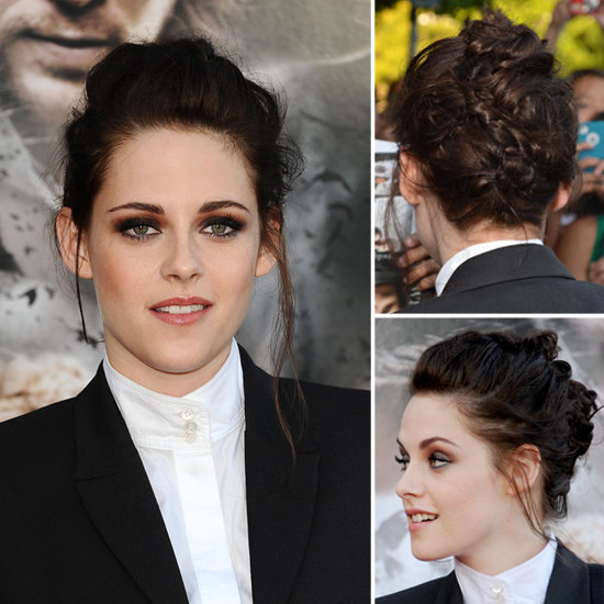Learn How to Get Kristen Stewart's Braided Mohawk Updo