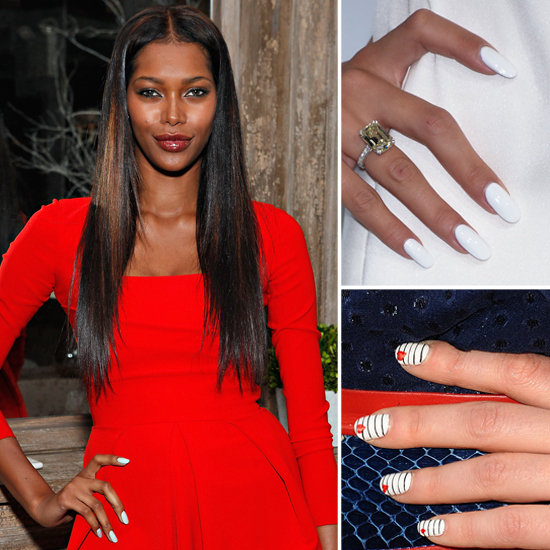 Best color nails for red dress