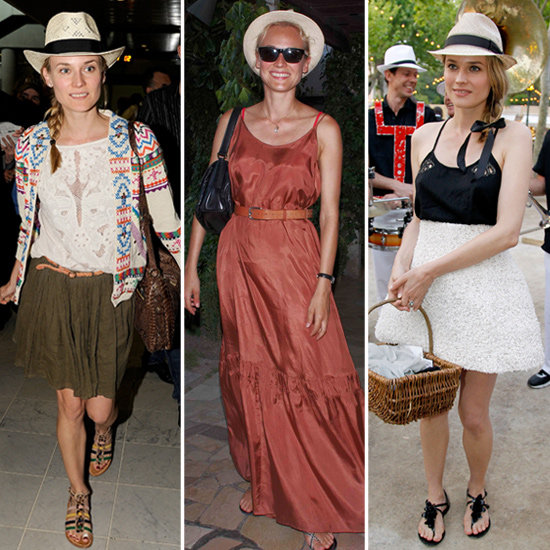 Diane Kruger Adores Straw Fedoras — 6 Chic Outfits to Prove It!