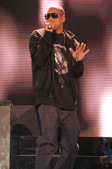 "Jay-Z performed the song ""Umbrella"" on stage in 2007."
