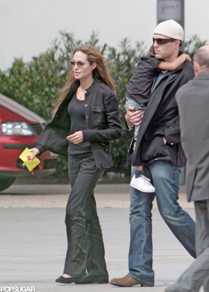 In May 2007, James Haven spent time with Angelina Jolie and Maddox Jolie-Pitt in Prague.