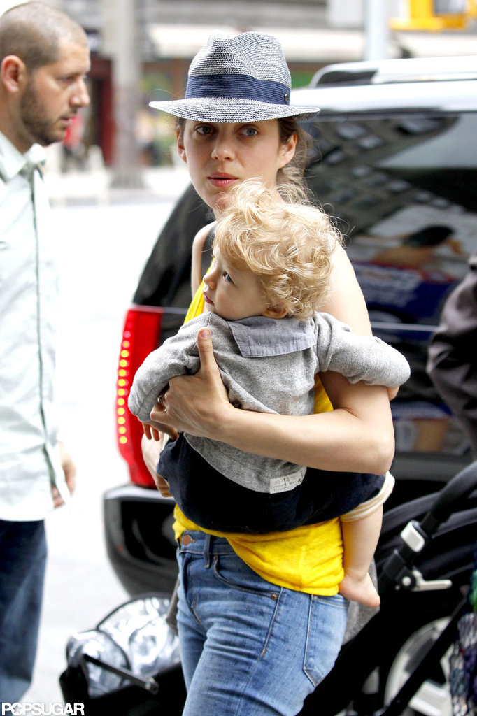 Marion Cotillard Takes On the Big Apple With Her Little Man Marcel