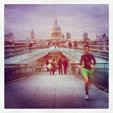 Jog Along the River Thames