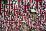 Union flags filled up the city ahead of the Diamond Jubilee celebrations this weekend.