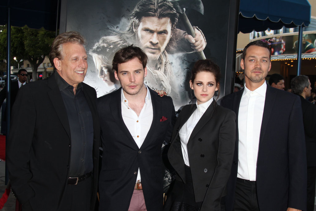 Kristen Stewart is a Beauty in Black and White at a SWATH Screening in LA