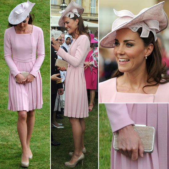 Kate Middleton Pulls Her Recycling Trick Again: Snoop Her Pretty in Pink Look From All Angles!