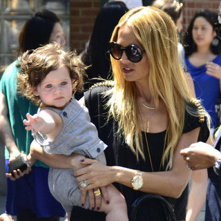 Rachel Zoe Walks With Skyler and Rodger Berman in NYC Pictures