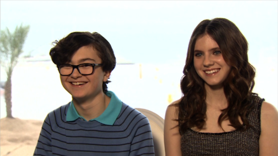 Moonrise Kingdom's Jared Gilman and Kara Hayward Talk Young Love and Learning From Hollywood's Best