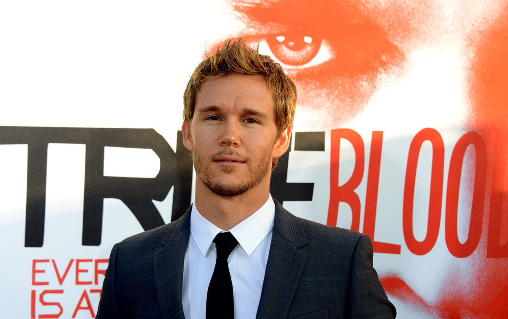 Ryan Kwanten looked dapper in a suit and tie.
