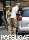 Chris Hemsworth and Elsa Pataky were out in London with their daughter, India.