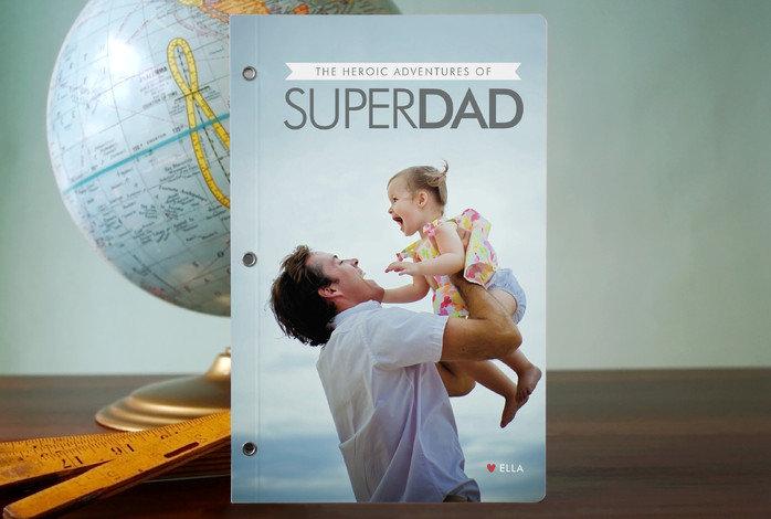 Minted Superdad Journal