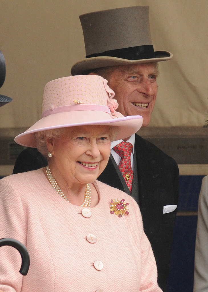 Queen Elizabeth II and Prince Philip, Duke of Edinburgh, took in the 2009 Derby.