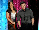 Mila Kunis and Mark Wahlberg